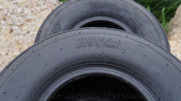 Покрышка (шина) 225/55-8 (18*9.50-8) для Scrooser, SEEV Citycoco