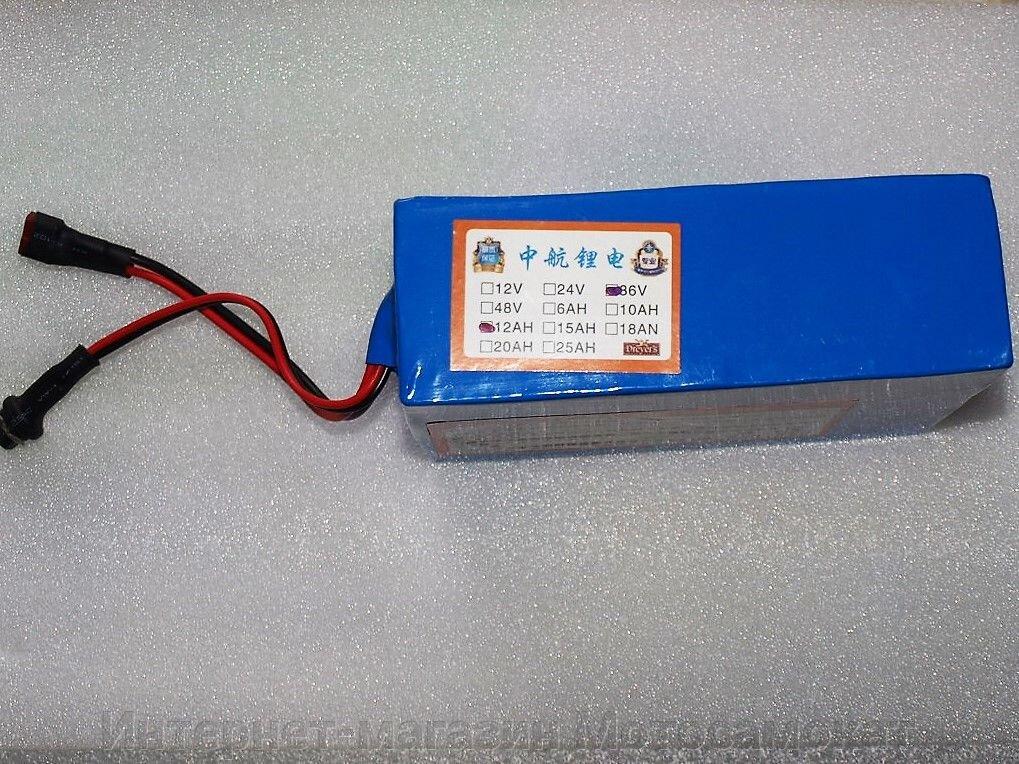 Аккумулятор Li-Ion 36v 12Ah + сумочка, для электровелосипеда - фото Аккумулятор Li-Ion 36v 12Ah + сумочка, для электровелосипеда