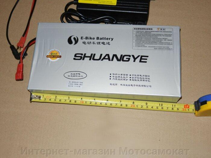 Литиевый аккумулятор для электровелосипеда  Li-Ion 36v 13Ah - фото Литиевая батарея 36 вольт для электровелосипеда или электросамоката