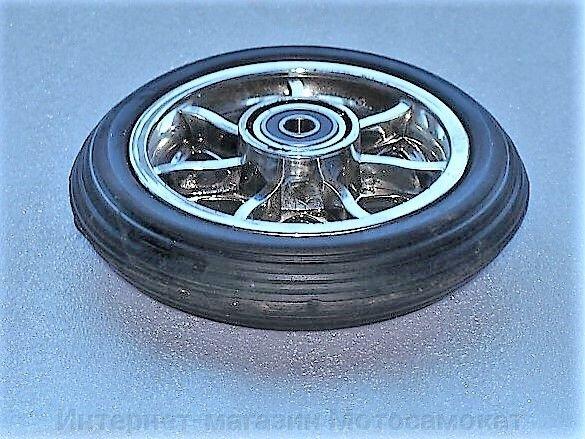 Колесо для электросамоката CD-08 переднее, диаметр 155 мм - фото Колесо для электросамоката 155 мм.