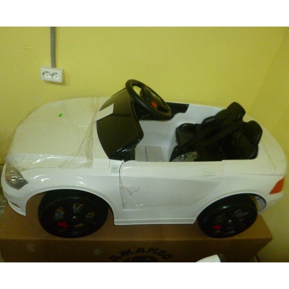 Машинка на аккумуляторе, 6V4AH*2, Р/У, колеса EVA, цвет-белый, свет, звук, открыв двери, 110*60*50см - фото pic_87c440bbae2df8d9156dd8088201ee7c_1920x9000_1.jpg