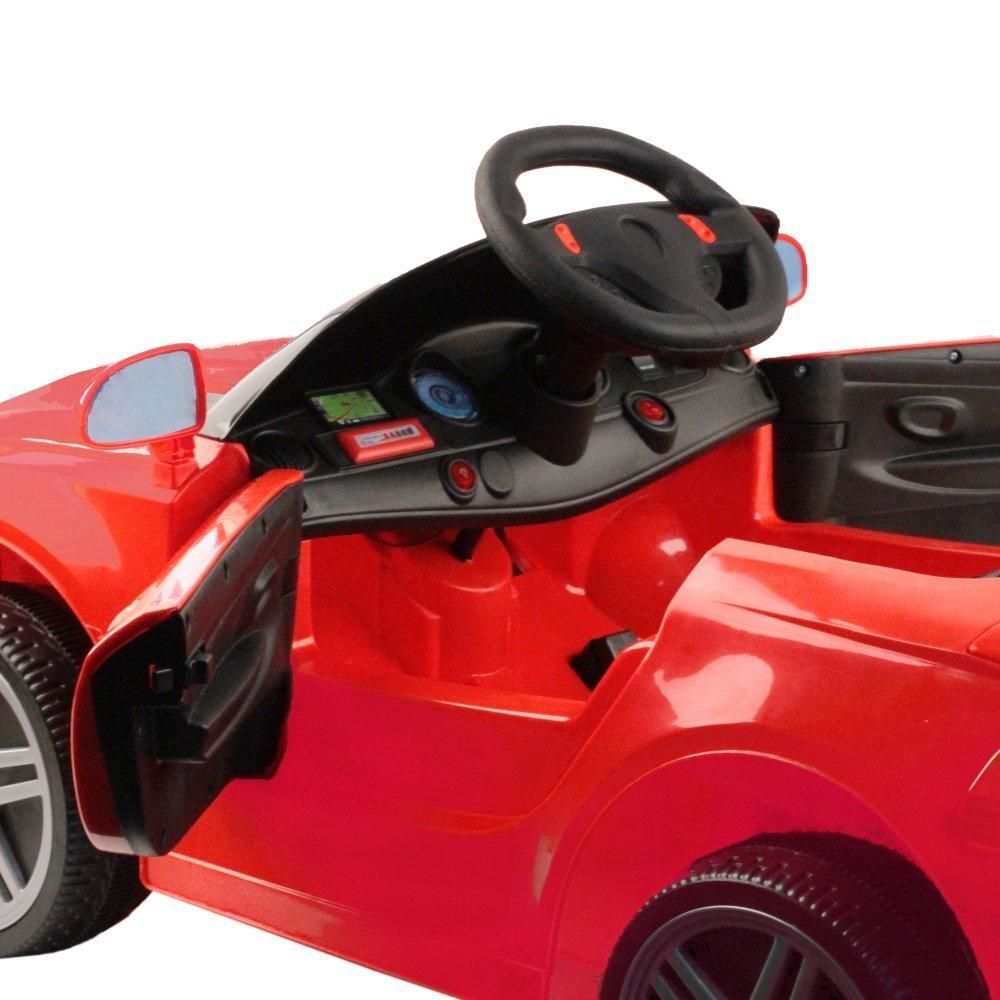 Машина на аккумуляторе 6V7Ah, 1 мотор, РУ, красный, 108*57*31см , пластиковые колеса - фото pic_10fdd2d1bcd313032016b010229a862b_1920x9000_1.jpg