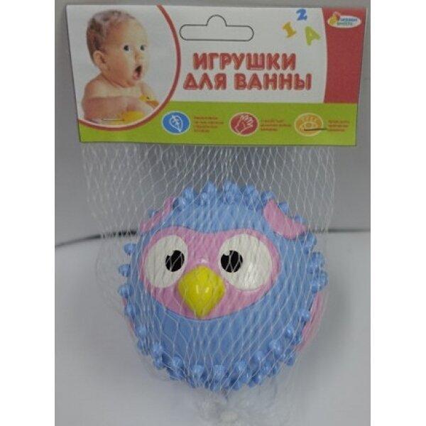 "Игрушка для ванны ""Мячик-Сова"" (голубая) 8см - фото pic_d4e6fd850bf457b7a010cb31b62f682e_1920x9000_1.jpg"