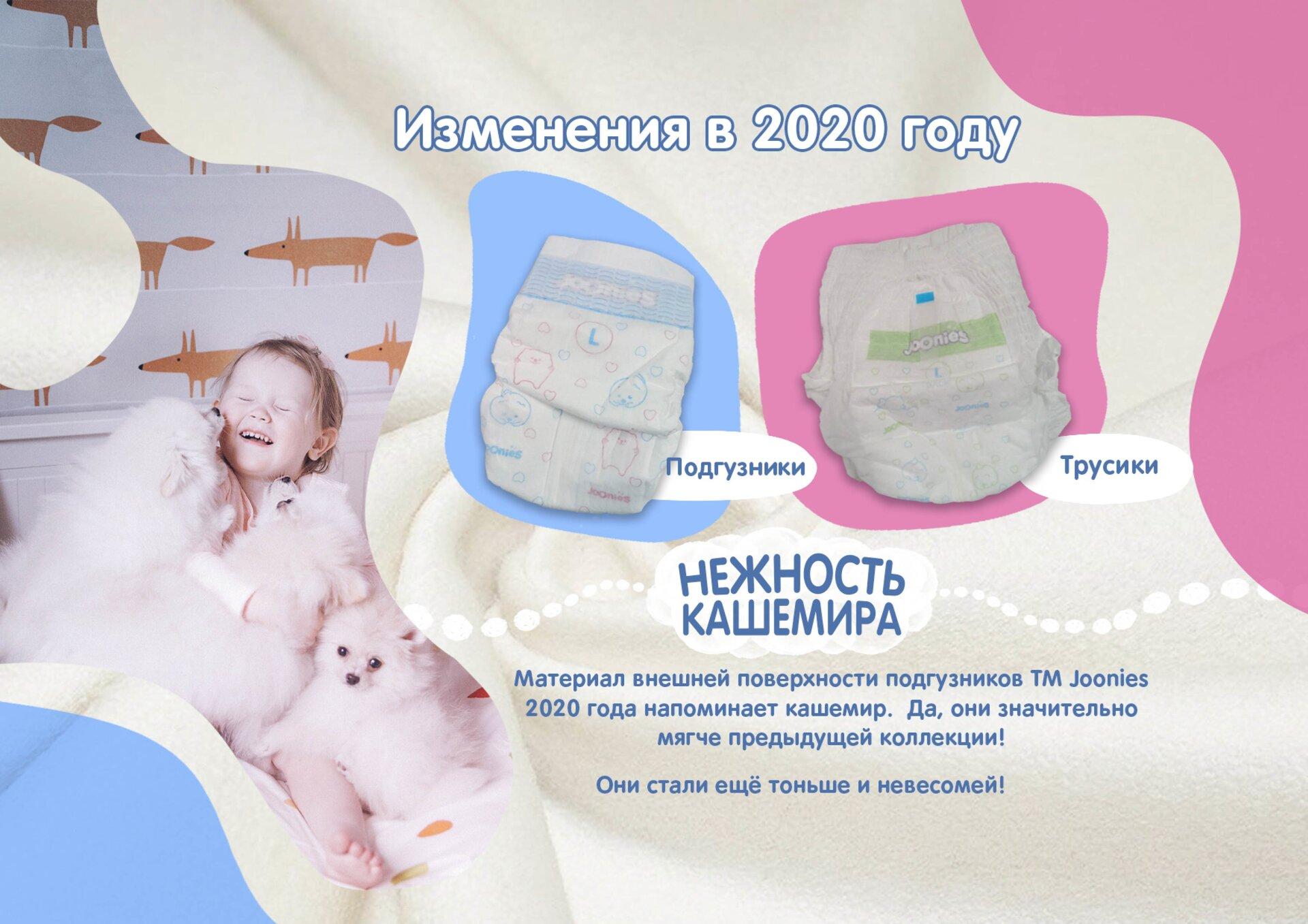 Подгузники Joonies  Premium Soft (Джунис) M (6-11 кг) 58 шт. - фото pic_f23ba8d3f64ca44d5aa85cf4cd6dc2cb_1920x9000_1.png