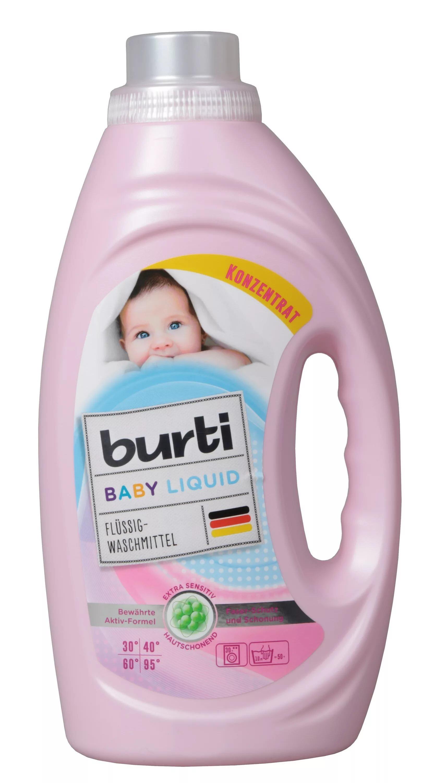 Burti Гель для стирки детского белья, 1,45 л., Германия - фото pic_7a115b53cbbdef55dbbd60d397233f17_1920x9000_1.jpg