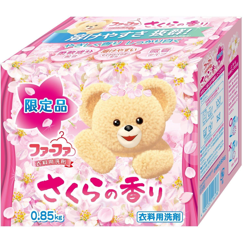 Детский стиральный порошок концентрированный c ароматом сакуры (смягчающий) 0,85кг (Baby Nissan FaFa) - фото pic_a56086be998c75fb50d2f1a8af468578_1920x9000_1.jpg