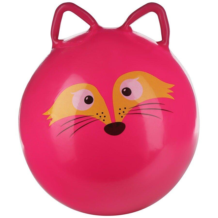 """Мяч-прыгун с ушками 45 см """"Лисёнок"""" - фото pic_31722295e4149cf5107055e92a5459e9_1920x9000_1.jpg"""