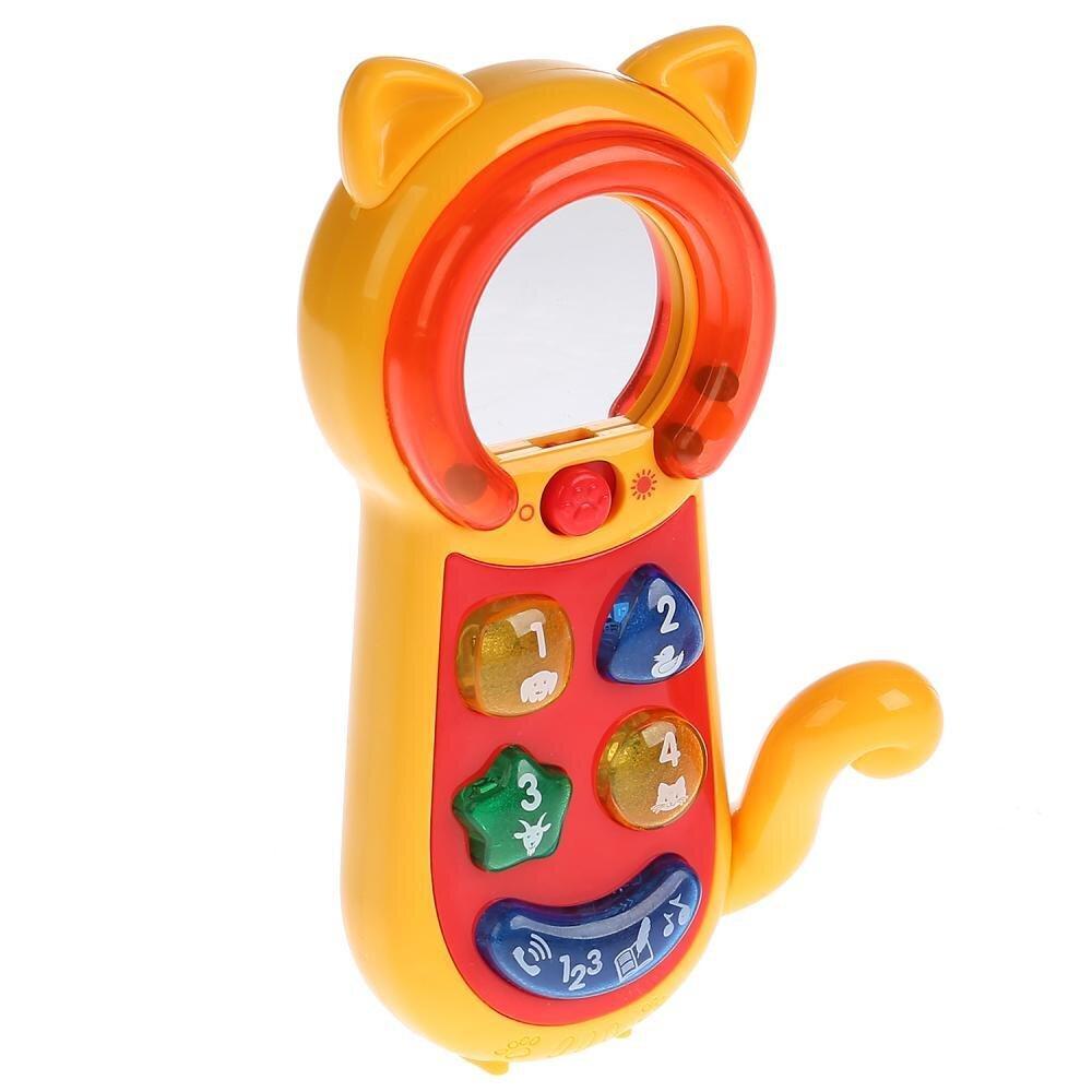 """Обучающий телефон-трещотка на бат., свет+звук, Стихи М. Дружининой, учим цифры, фразы """"УМКА"""" - фото pic_aa3c62cf99cf73b27de2e3760162021f_1920x9000_1.jpg"""