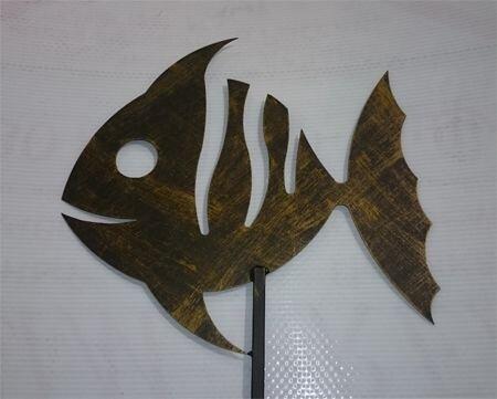Флюгер рыба