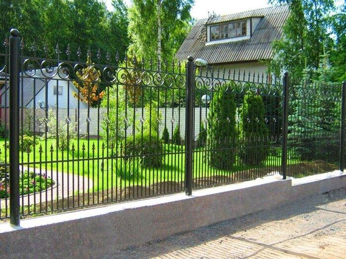 Сварный забор