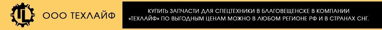 Купить запчасти для спецтехники в Благовещенске в компании «Техлайф» по выгодным ценам можно в любом регионе РФ и в странах СНГ.