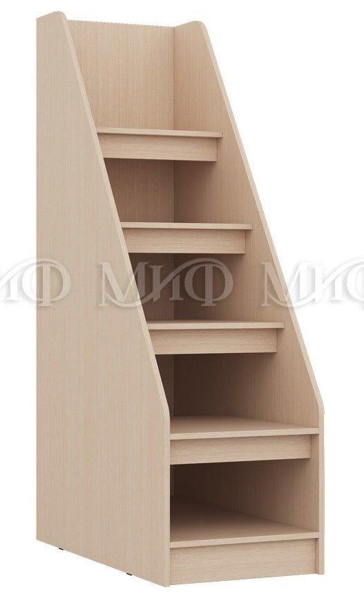 Набор в мебели в детскую - фото Лестница для детской кровати
