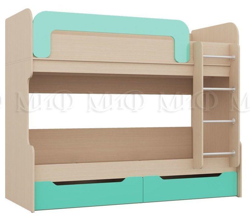 Набор в мебели в детскую - фото Кровать детская двухярусная