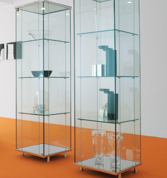 Витрина для кубков - фото Витрина стеклянная для кубков
