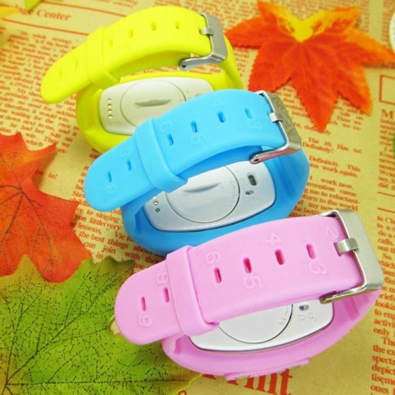 Детские водонепроницаемые часы Smart Baby Watch Q520S (Голубой)