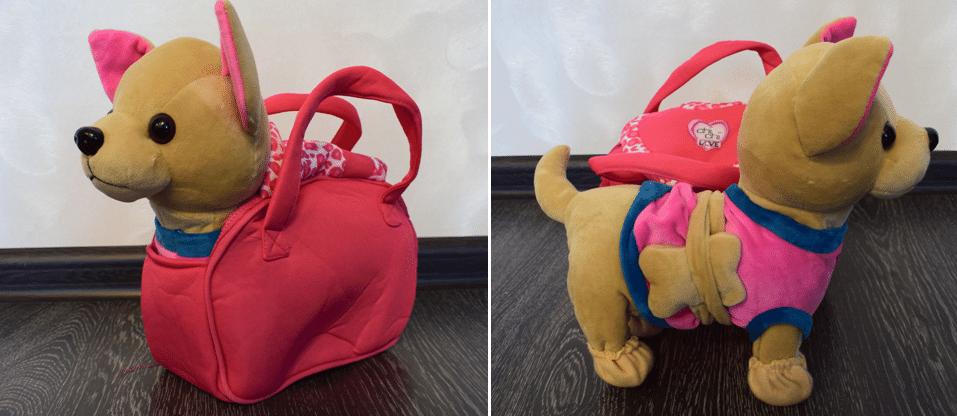 Интерактивная собачка в сумочке Chi Chi Love Чихуахуа