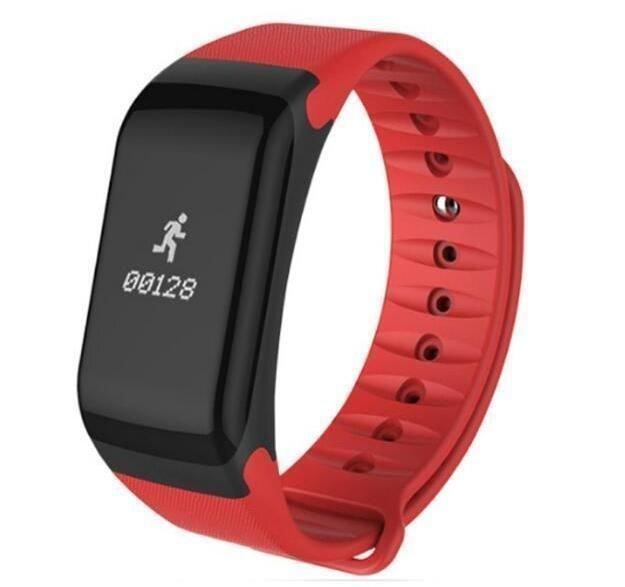ФиФитнес-браслет SmartBand F1 (красный)