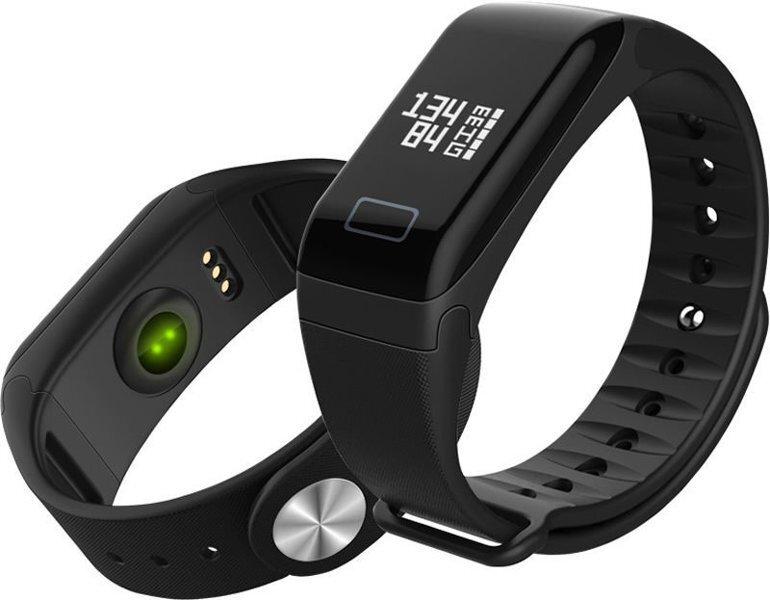 Фитнес-браслет SmartBand F1 (черный)