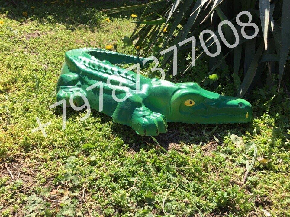 "Садовая фигурка ""Крокодил малый"" - фото pic_cffd190c5c0b6bc7d2f1cf698325e099_1920x9000_1.jpg"