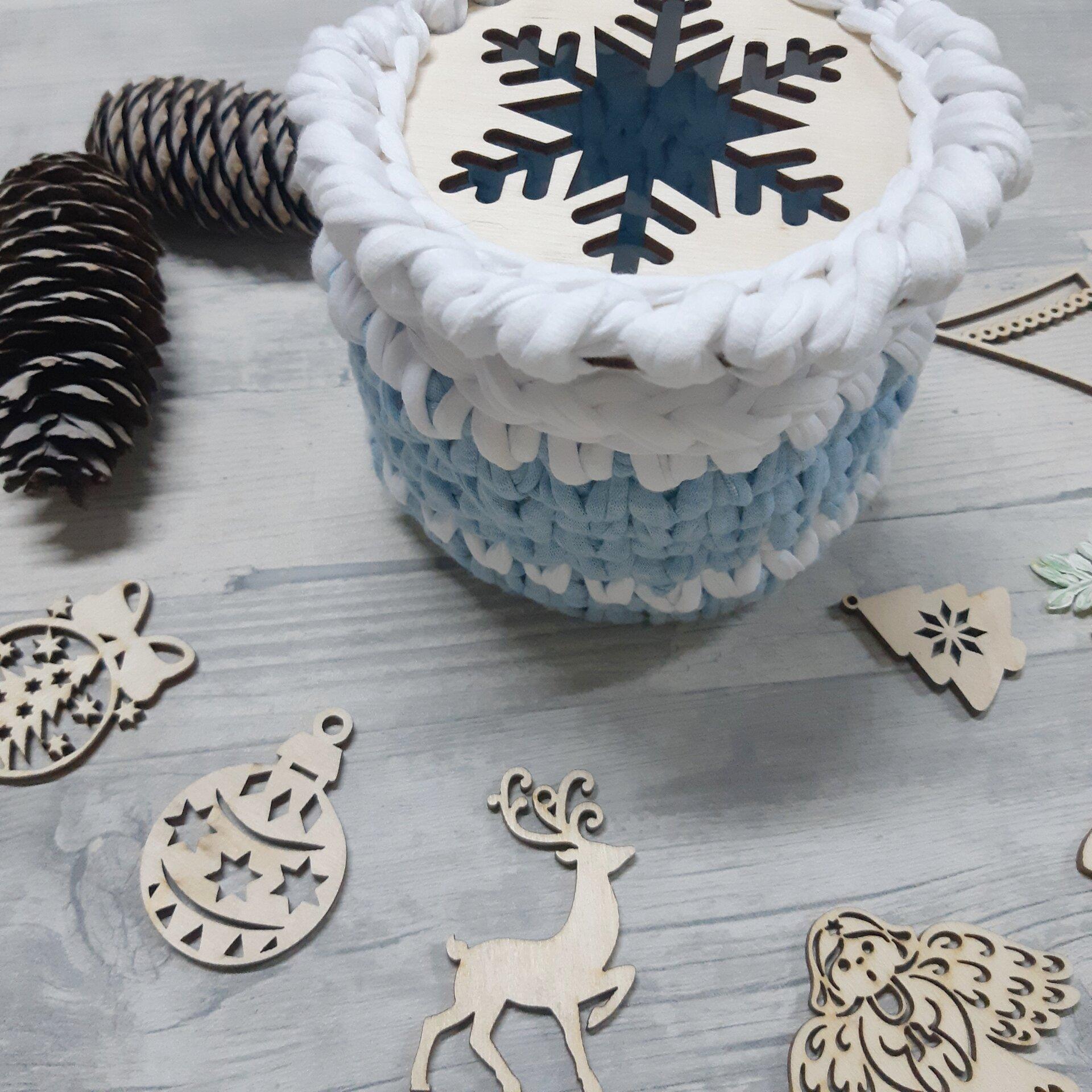 """Набор донышек для вязания корзинки """"Снежинка"""" 12см - фото pic_33d20b62e389d59080d5f612feb0bf6b_1920x9000_1.jpg"""