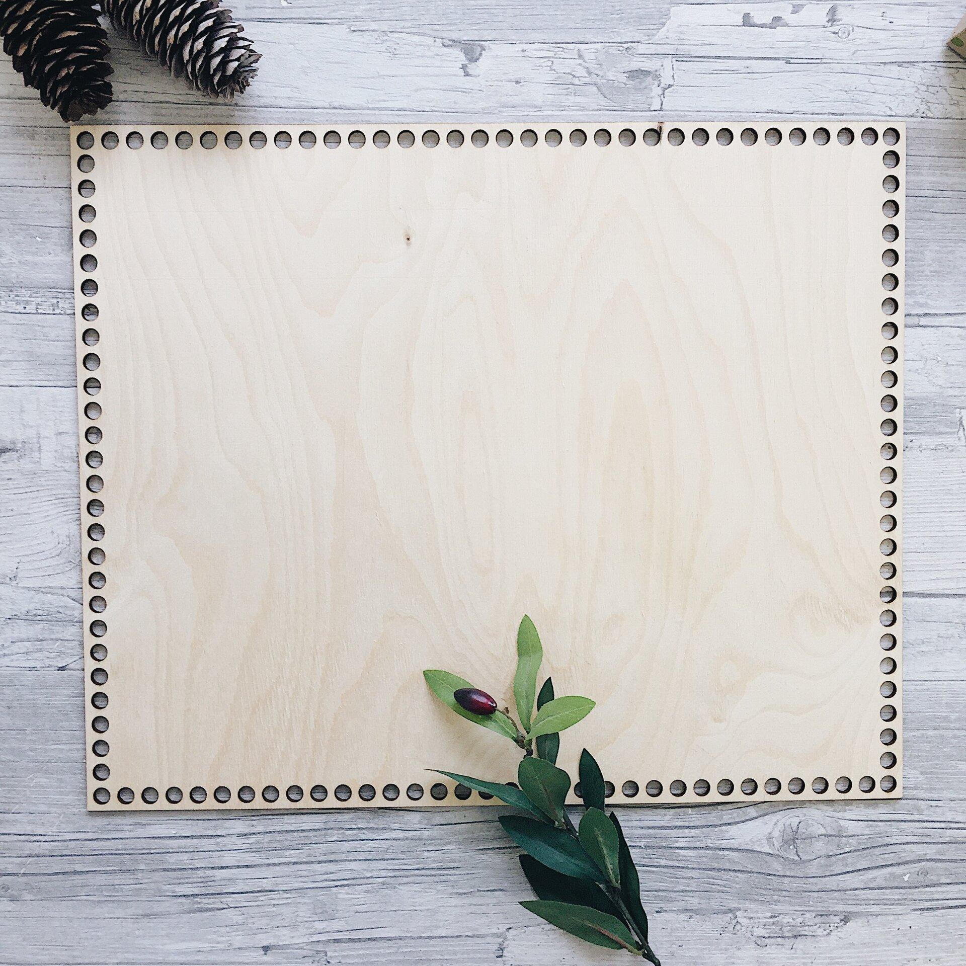 Деревянное донышко для корзины, прямоугольник с острыми углами 33х32см - фото pic_08bbb40091b870ab92378585d52287f7_1920x9000_1.jpg