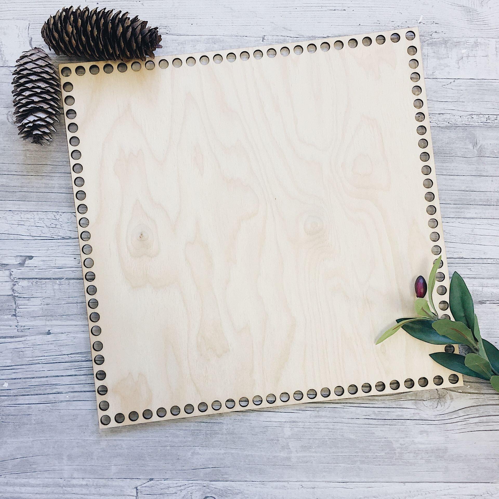 Деревянное донышко для вязания, квадрат 35см - фото pic_0c08abfb5b01fa4_1920x9000_1.jpg