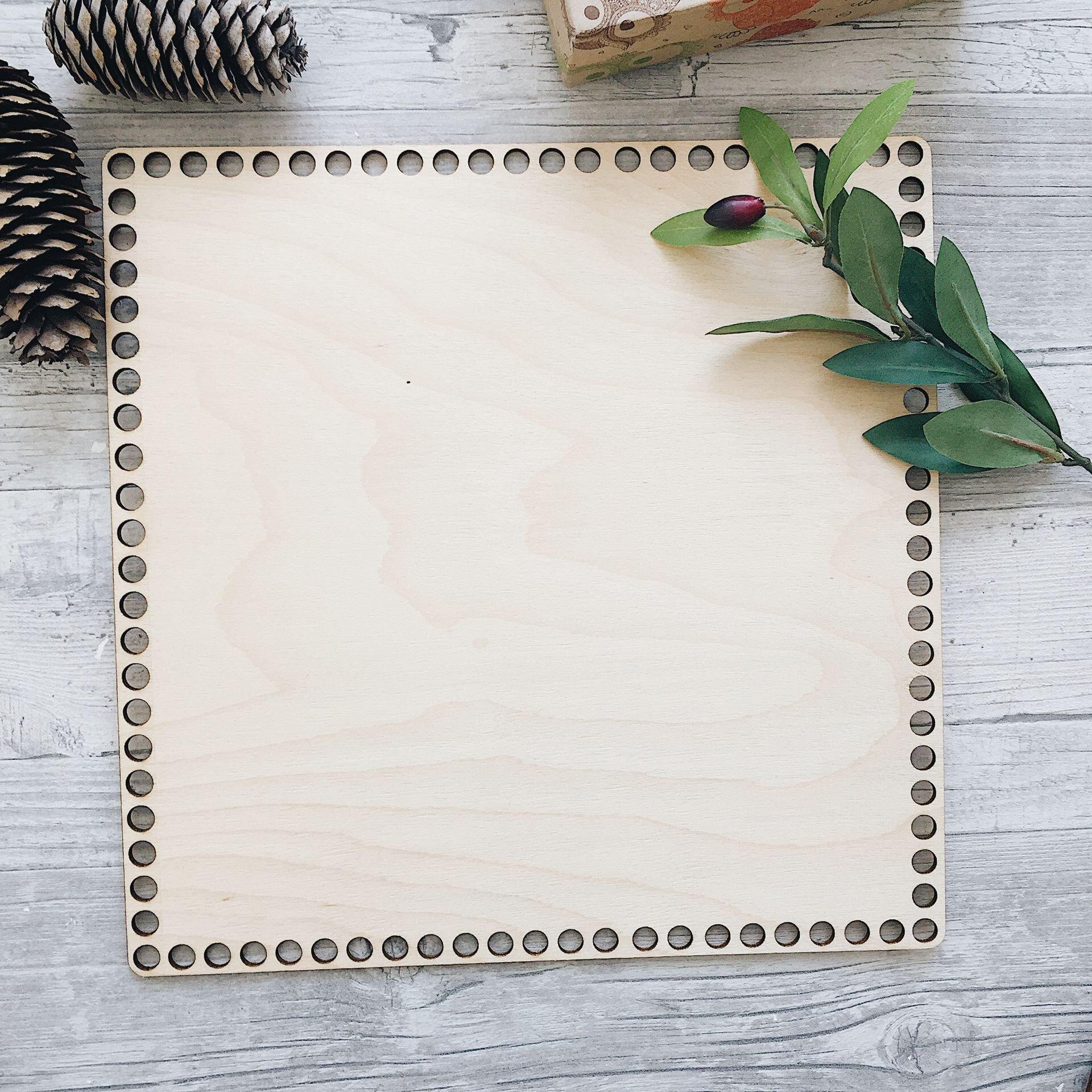 Деревянное донышко для вязания, квадрат 30см - фото pic_fe71418f45e6291_1920x9000_1.jpg