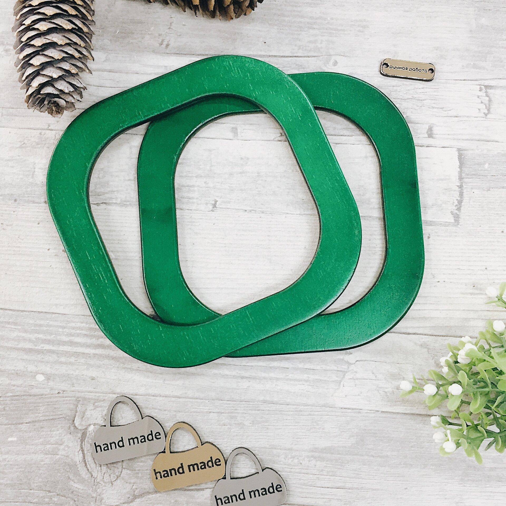 Деревянные ручки для вязаных сумок квадратные, зеленый - фото pic_327606559001cc221684b6a33c526c60_1920x9000_1.jpg