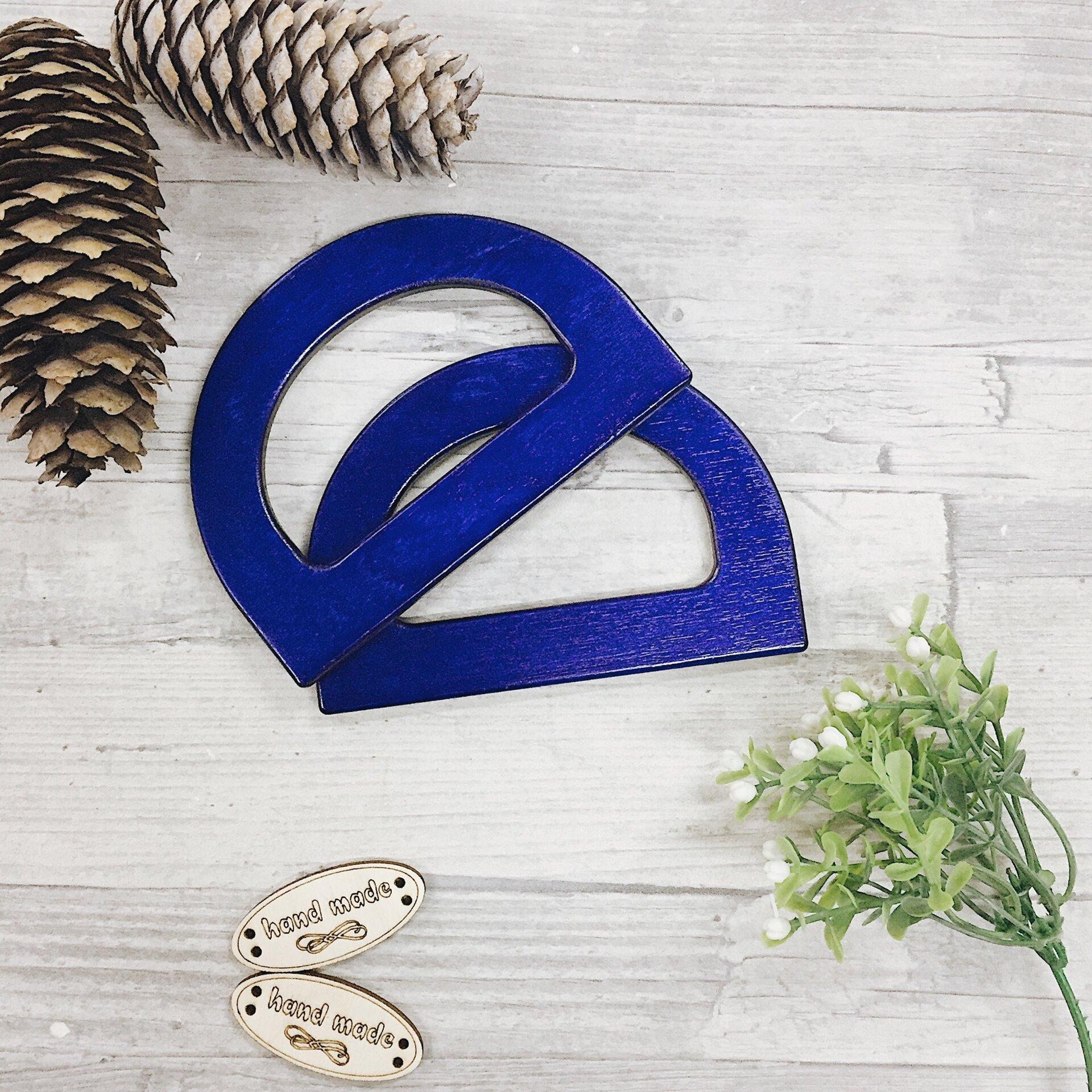 Деревянные ручки для вязаных сумок, полукруг без отверстия, синий - фото pic_327606559001cc221684b6a33c526c60_1920x9000_1.jpg