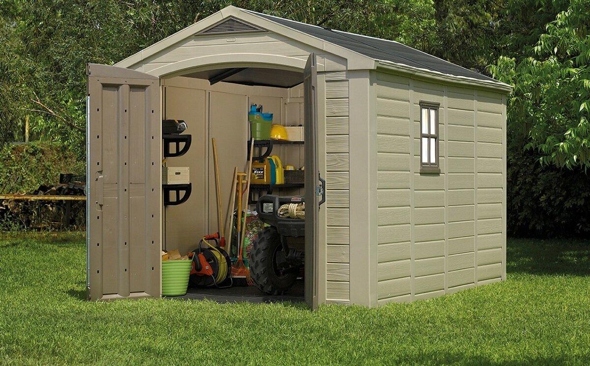 Садовые постройки и хозблоки для дачи - фото сарай для дачи