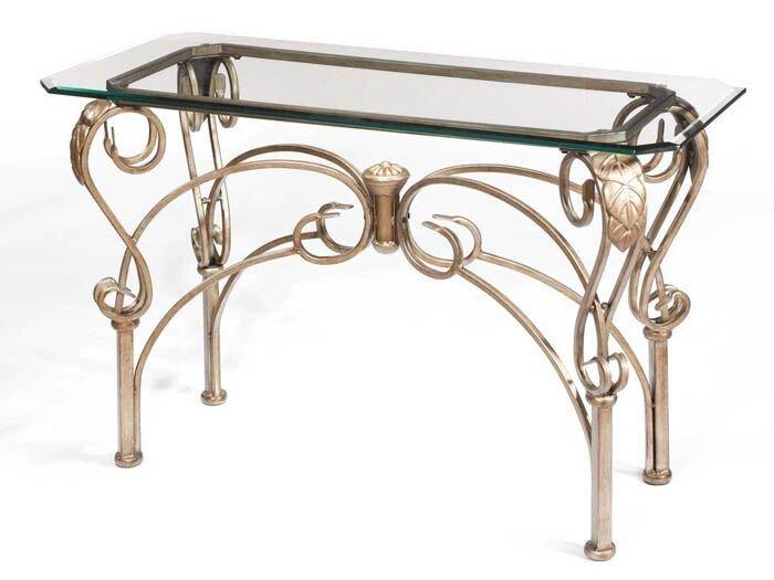 Кованая мебель - фото кованый стол