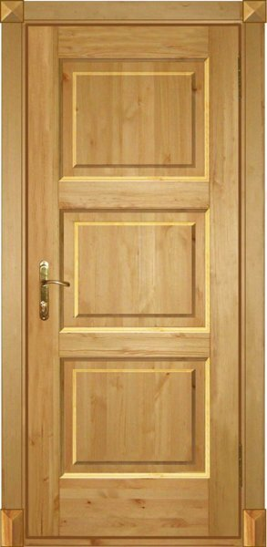 Двери - фото дверной блок
