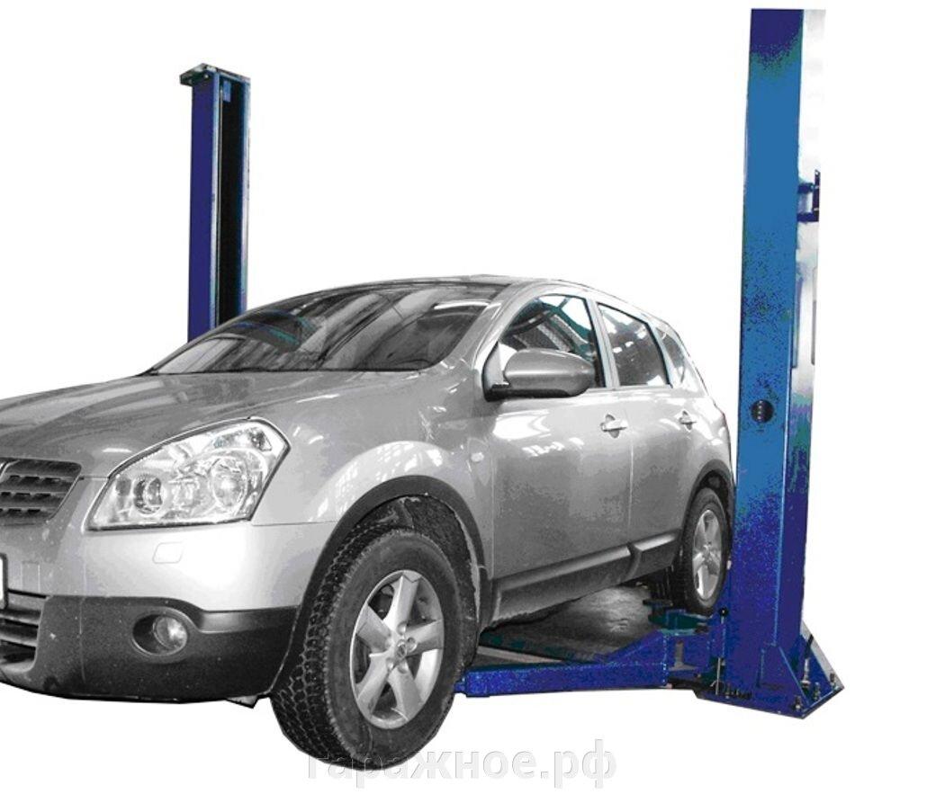 Автомобильные подъемники для грузовых автомобилей - фото Автоподъемник для автосервиса