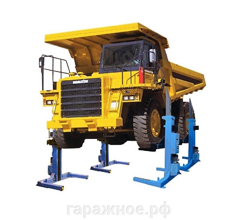 Автомобильные подъемники для грузовых автомобилей - фото Автомобильный подъемник ПГ-50
