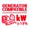 Сварочный инвертор, Telwin Advance 187 MV/PFC - фото полная защита с мотор-генераторами