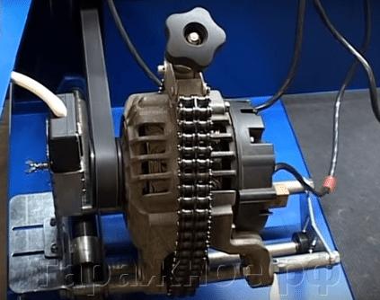 Стартер генератор стенд