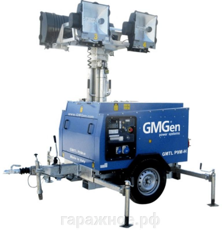 Осветительные мачты GMGen - фото Осветительная мачта GMTL P9M-H,