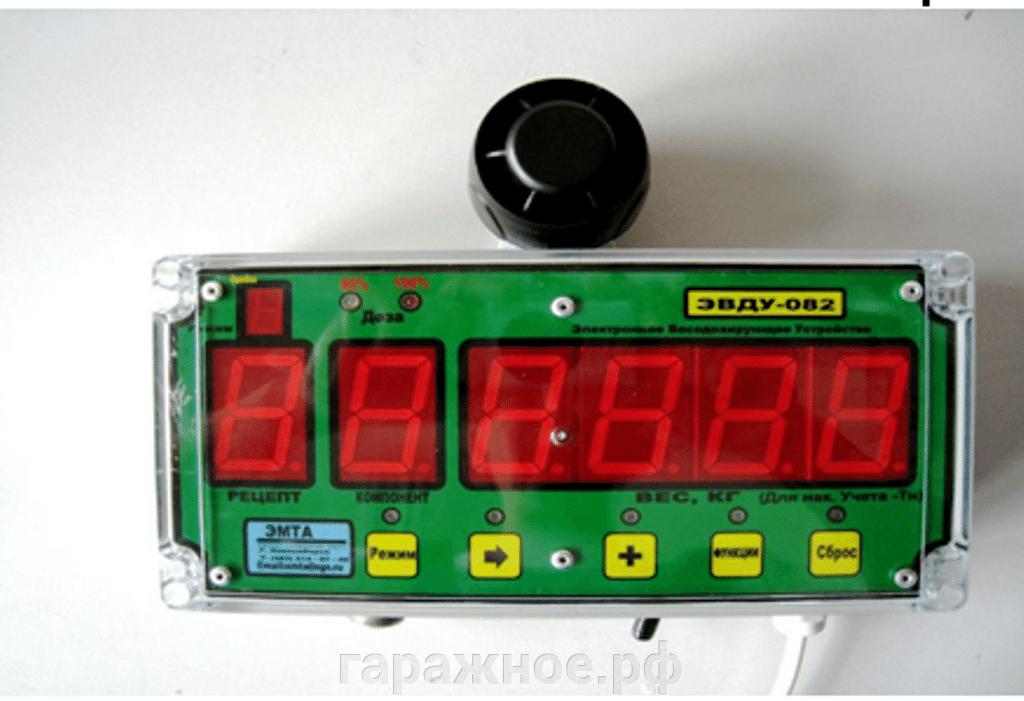 Комбикормовый завод - фото Электронное весодозирующее устройство