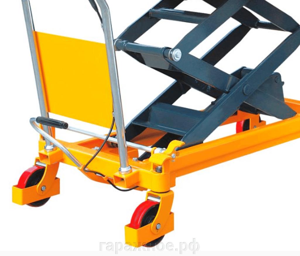 Подъемный стол - фото Стол с подъемным механизмом, двойной,