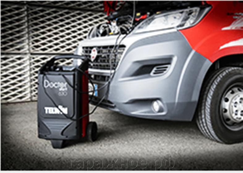 Пуско-зарядные устройства для автомобилей - фото Доктор Доброй воли, которой заботится о аккумуляторах