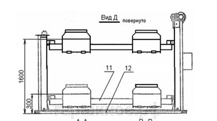 Автомобильный подъемник ПЛ-4