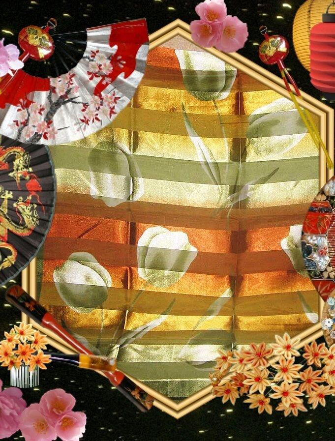 Estelle Платок женский Тюльпан размер 100Х100см. - фото pic_c7ce96d140e9534_700x3000_1.jpg