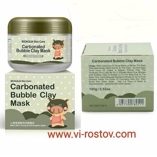 Carbonated Bubble Clay Mask Пузырьковая маска для лица 100g - фото pic_4765def5fa7b6a144fef3a35c95ccb67_1920x9000_1.jpg