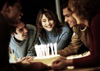 "Свеча восковая для торта с блестками ""Серпантин"", цифра 7 - фото 1"