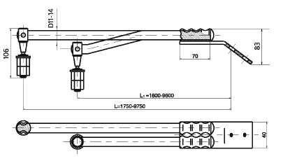 Перемычка дроссельная ДМС-70х2-9600 (НФТХ.2.30.004.002.000-12) - фото pic_60dd95fbe28f673_1920x9000_1.jpg