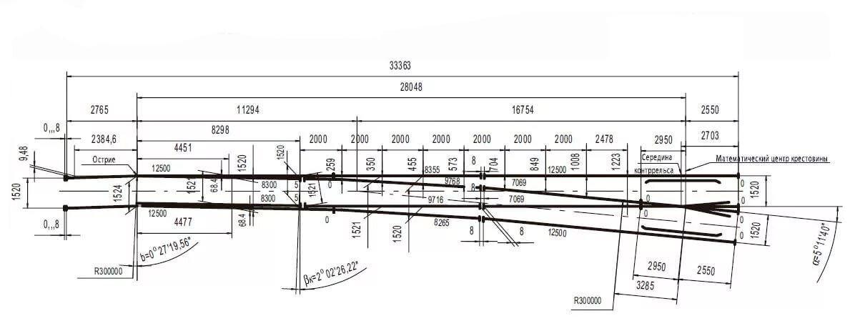 Крестовина 1/11 проект 2433 дерево новая - фото pic_a7df2b662650439_1920x9000_1.jpg