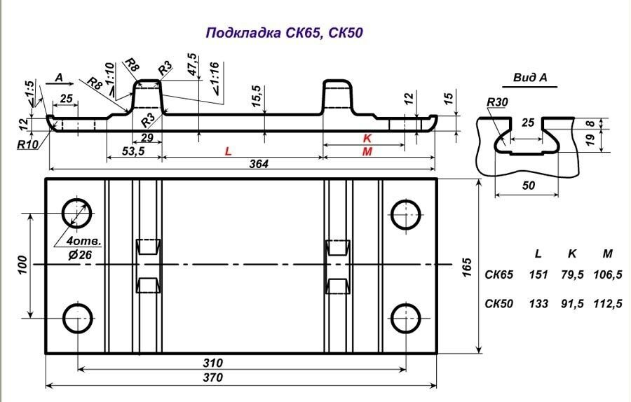 Подкладка СК-65 новая ГОСТ 16277-93 - фото pic_3bf690d257ec36f_1920x9000_1.jpg