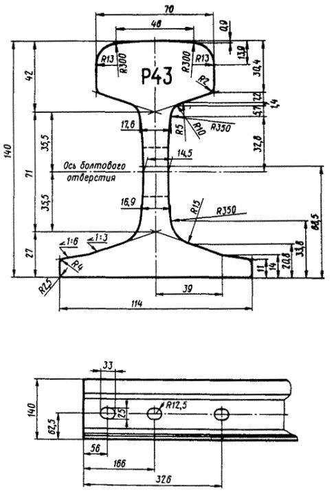 Рельсы Р43 12,5м демонтаж, без износа ГОСТ 7173-54 - фото pic_ed0c84a2637ce9e_1920x9000_1.jpg