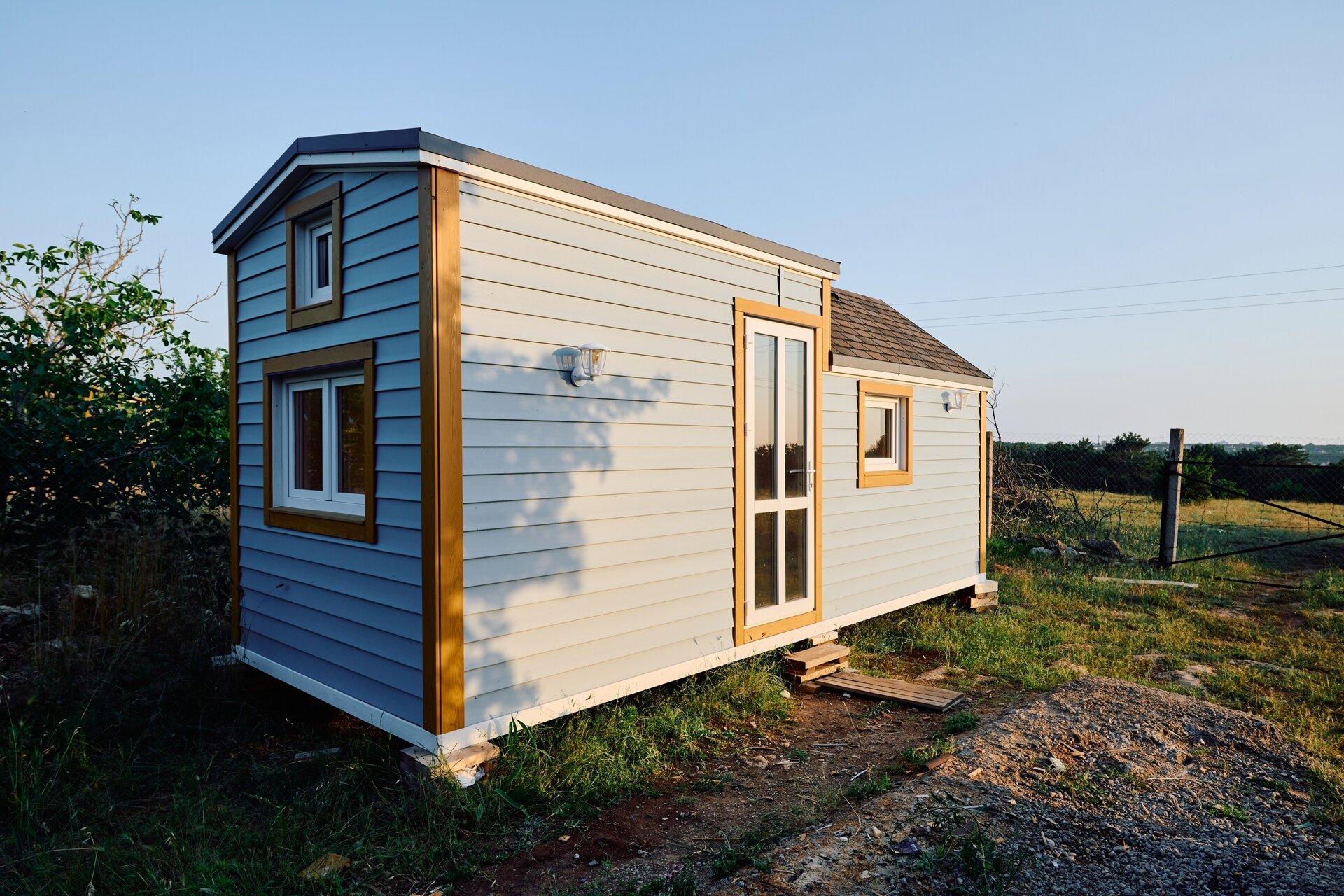 Мини дом в Крыму комплектация под ключ