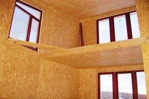 СИП дом до отделка интерьера